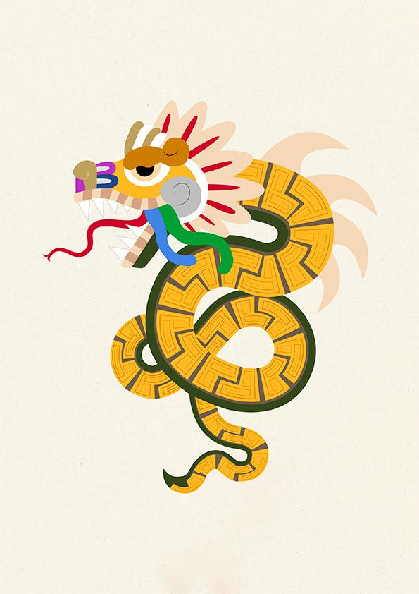 serpiente maya